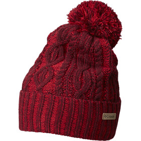 Columbia Blizzard Pass Beanie Women rich wine